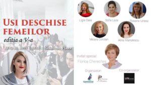 """Evenimentul """"Usi Deschise Femeilor"""" editia a V-a - Oportunitati Si Provocari In Cariera - Oradea, judetul Bihor"""